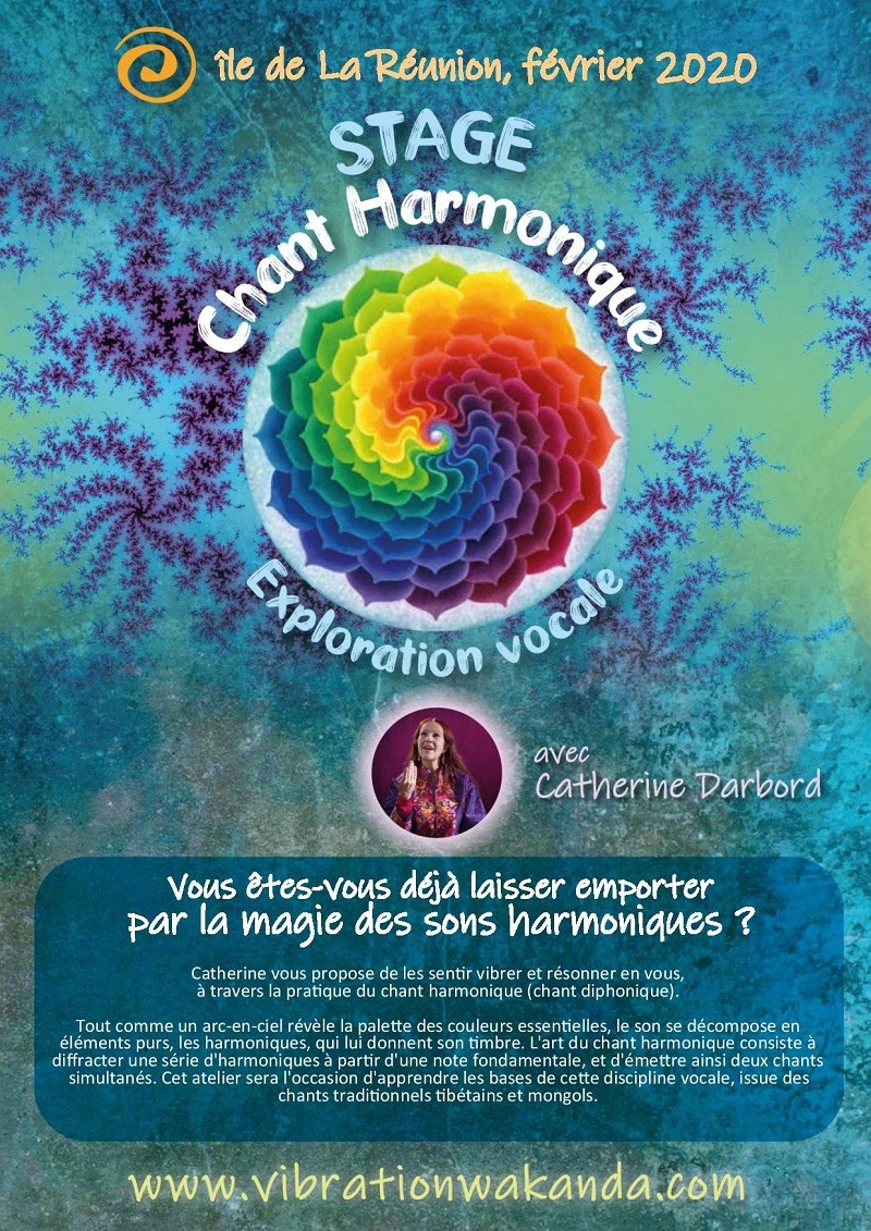 stage de Chant harmonique, à l'île de La Réunion